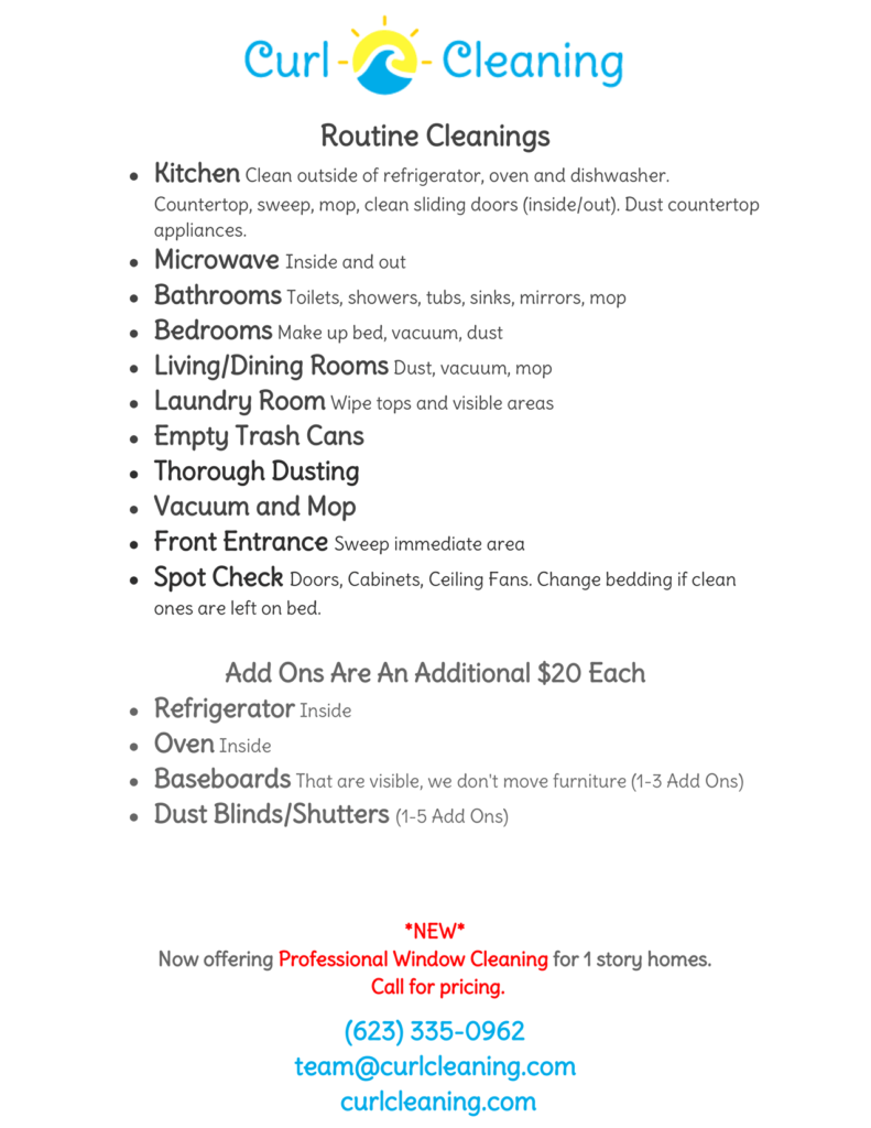 house cleaning checklist curl house cleaning routine and recurring